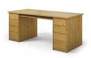 Schreibtisch Nach Maß : farato aus kiefer schreibtisch nach ma ~ Frokenaadalensverden.com Haus und Dekorationen
