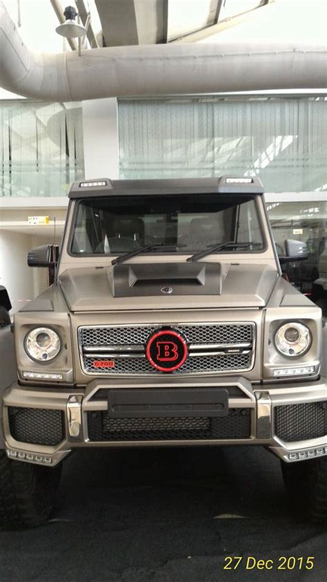 Brief content visible, double tap to read full content. 15 Brabus 700 Mercedes-Benz G63 AMG 6x6 in Malaysia - GTspirit