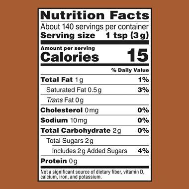 The % daily value (dv) tells you how much a nutrient in a serving of food contributes to a daily diet. Nestle Coffeemate Creamy Chocolate Powdered Coffee Creamer | Hy-Vee Aisles Online Grocery Shopping