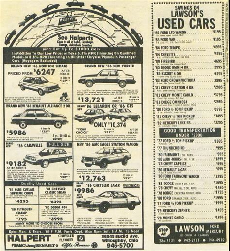 used car ads 11 must read web sites for the classic car fan classic