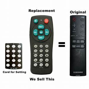 New Universal Soundbar Remote For Vizio Vsb200 Vsb205