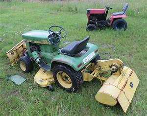 1969 Jd 110  Engine Swap   - John Deere Tractor Forum