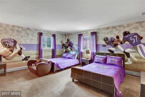 Ray Lewis Is Selling Maryland Mansion With Monogrammed Gym ...
