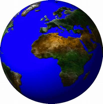 Spinning Earth Globe Animation Deviantart Global Sun