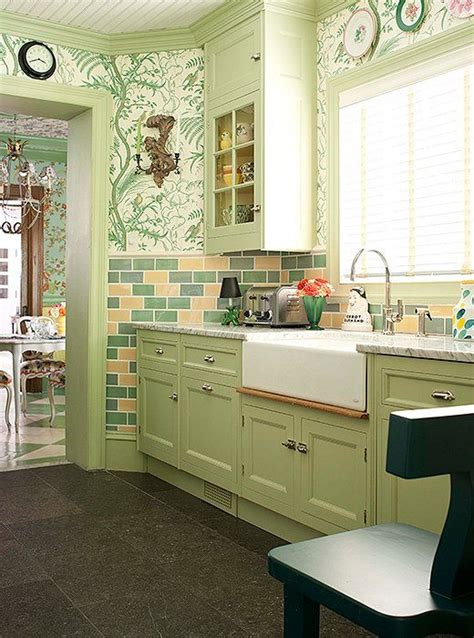 designer tips  showstopping green kitchens