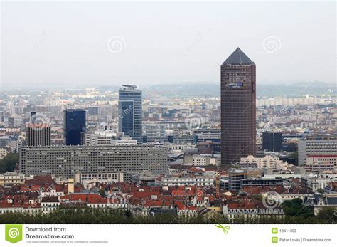 bureau change lyon part dieu tower in lyon part dieu editorial stock photo image