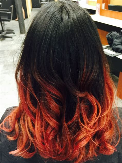 Apollymis Hair Is A Mix Between All Ranges Reds Yellows