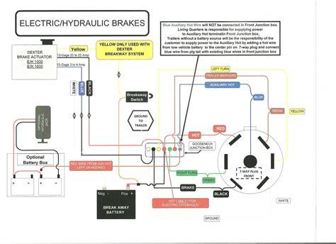 trailer brake wiring diagram 7 way for jayco new 12 pin