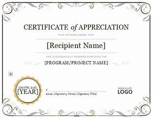 7 appreciation certificate templatets blank certificates With years of service certificate templates free