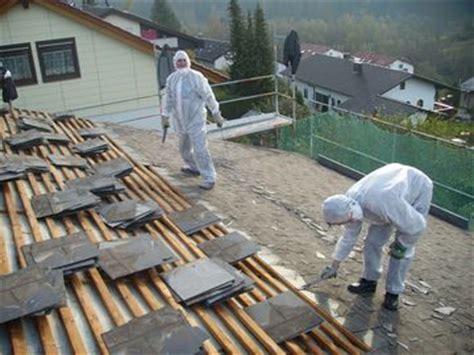 guenstiger asbest abbruch und entsorgung von dachdecker mueller