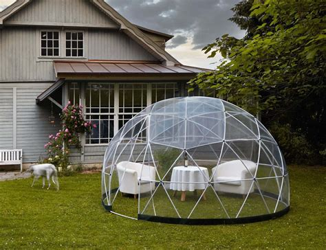 garten iglu glas garden igloo outdoor living space for your garden 187 review