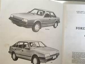Ford Telstar Tx5 Ghia Workshop Manual