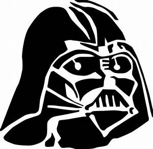 darth vader stencil blanco negro pinterest darth With darth vader pumpkin template