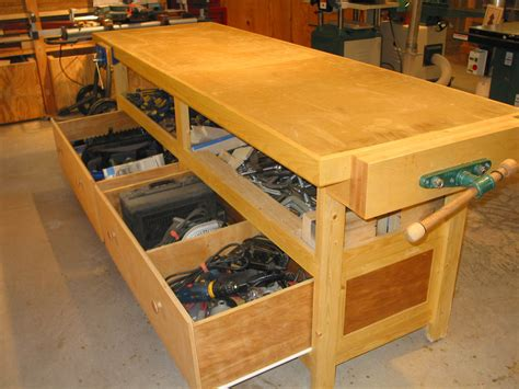 diy workbench with drawers best house design how to build workbench with drawers