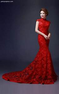 60 Beautiful Red Wedding Dress Inspiration41 Nona Gaya