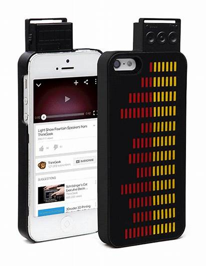 Equalizer Case Iphone Graphic Lights 5s Sound