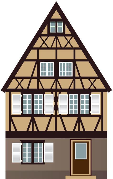 brown house png clip art  web clipart