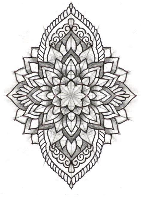 mandala tattoo manda