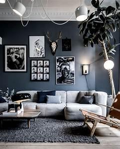 Salon Gris Blanc : comment d corer votre salon avec le gris et le blanc shake my blog ~ Dallasstarsshop.com Idées de Décoration