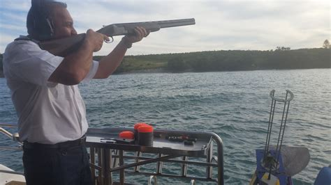 Fishing Boats For Hire Nz by Clay Shooting Decked Out Yachting Auckland Charter