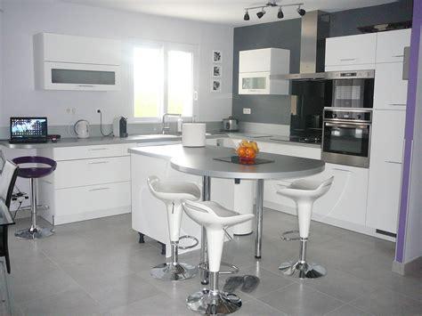 photo de cuisine ouverte avec ilot central cuisine ouverte ilot cuisine en image