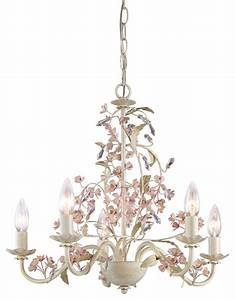 Laura ashley hbls blossom light chandelier antique