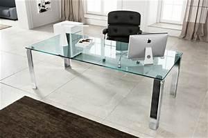 Computertisch Glas Ikea : schreibtisch aus glas wunderbare ideen ~ Markanthonyermac.com Haus und Dekorationen
