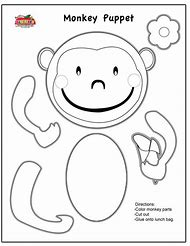 Best 25+ ideas about Monkey Template | Find what you\'ll love