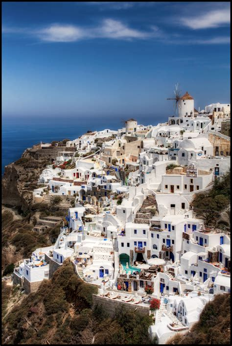 Santorini Island In Greece Thousand Wonders