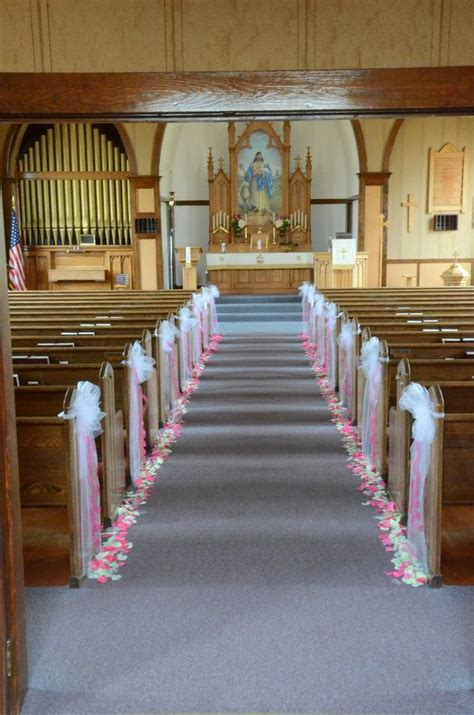 Pin By Wedding Flowers Inc On Church Wedding Decorations
