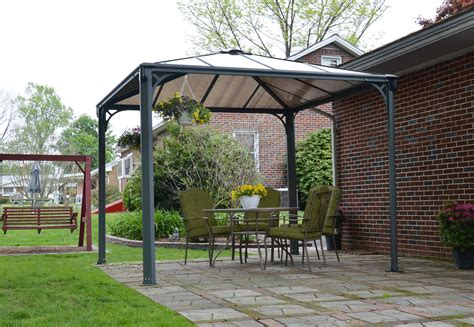 backyard gazebo harlington 3000 garden gazebo the canopy shop