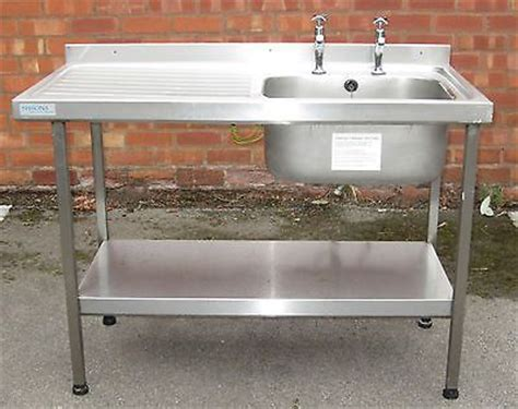 kitchen sink stand sissons stainless steel sink single large sink with 2909