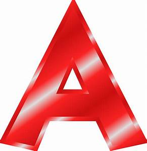 Clipart effect letters alphabet red for Alphabet photo letters