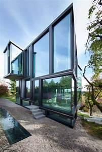 Glass House 2 : don t throw stones modern glass house is super sharp urbanist ~ Orissabook.com Haus und Dekorationen