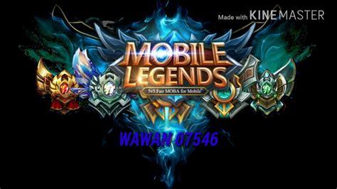 Logo Mobile Legends Versi Cartoon-on & On