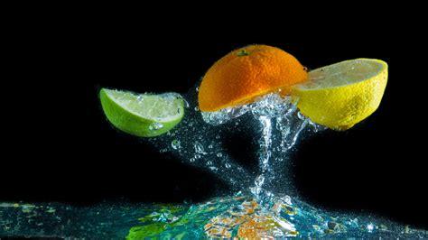 And Water Hd Wallpapers by Hd Wallpaper Fruit Lime Orange Lemon Water Drop