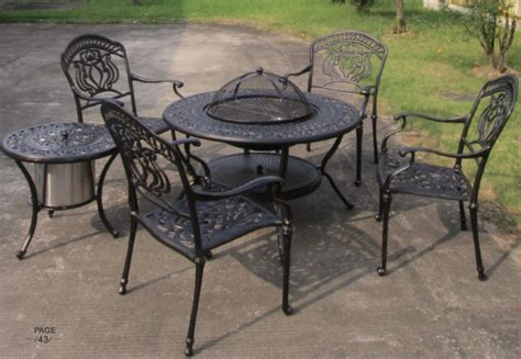 used outdoor garden furniture import outdoor korean bbq
