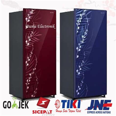 jual kulkas 1 pintu sharp sjx 165 mg glass door di lapak jaya electronik 12 jayaelectronik12