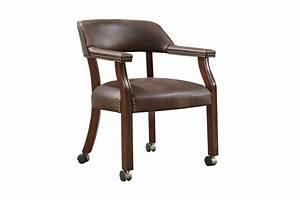 Seat Castres : traditional brown office chair with casters 517brn at gardner white ~ Gottalentnigeria.com Avis de Voitures