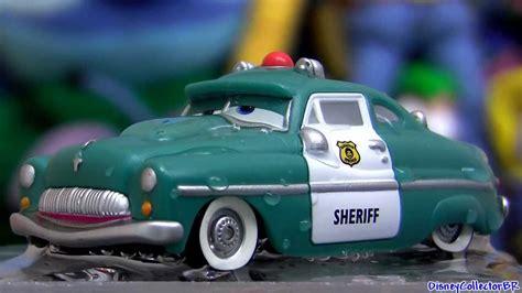 wet sheriff color changing cars  disney colour