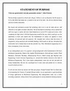 STATEMENT OF PURPOSE ARUNDEV C S Writing A Professional Graduate Statement Of Purpose 13 Best Images About Graduate School On Pinterest Story In A Statement Of Purpose Get Excellent Recommendation
