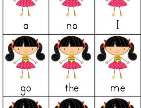 Free Printable Sight Word Go Fish