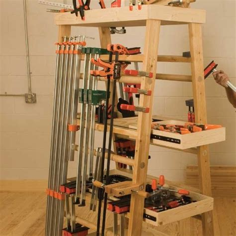 Instead, i present this clamp rack design: 17 Best images about Pipe clamp storage on Pinterest ...