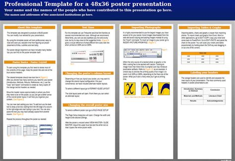 Tri Fold Research Poster Template - Costumepartyrun