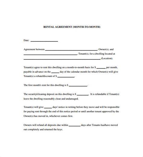 sample blank lease agreements sample templates
