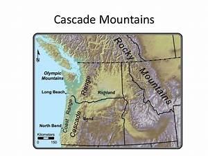Geographic features of the western united states