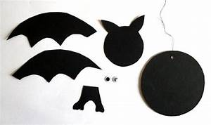 Bastelideen Für Halloween : fledermaus aus papier basteln my blog ~ Whattoseeinmadrid.com Haus und Dekorationen