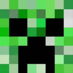 Minecraft Printable Creeper Face