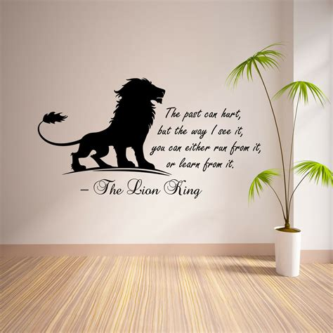 the king inspirational wall sticker bedroom quote