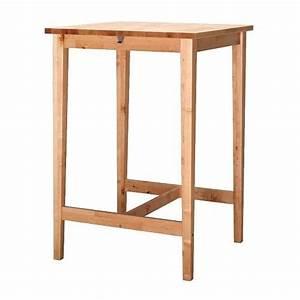 BJRKUDDEN Table Haute IKEA